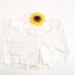 Express white cargo shorts size 2